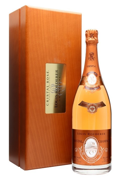 Шампанское Crystal Louis Roederer Rose 1996 год