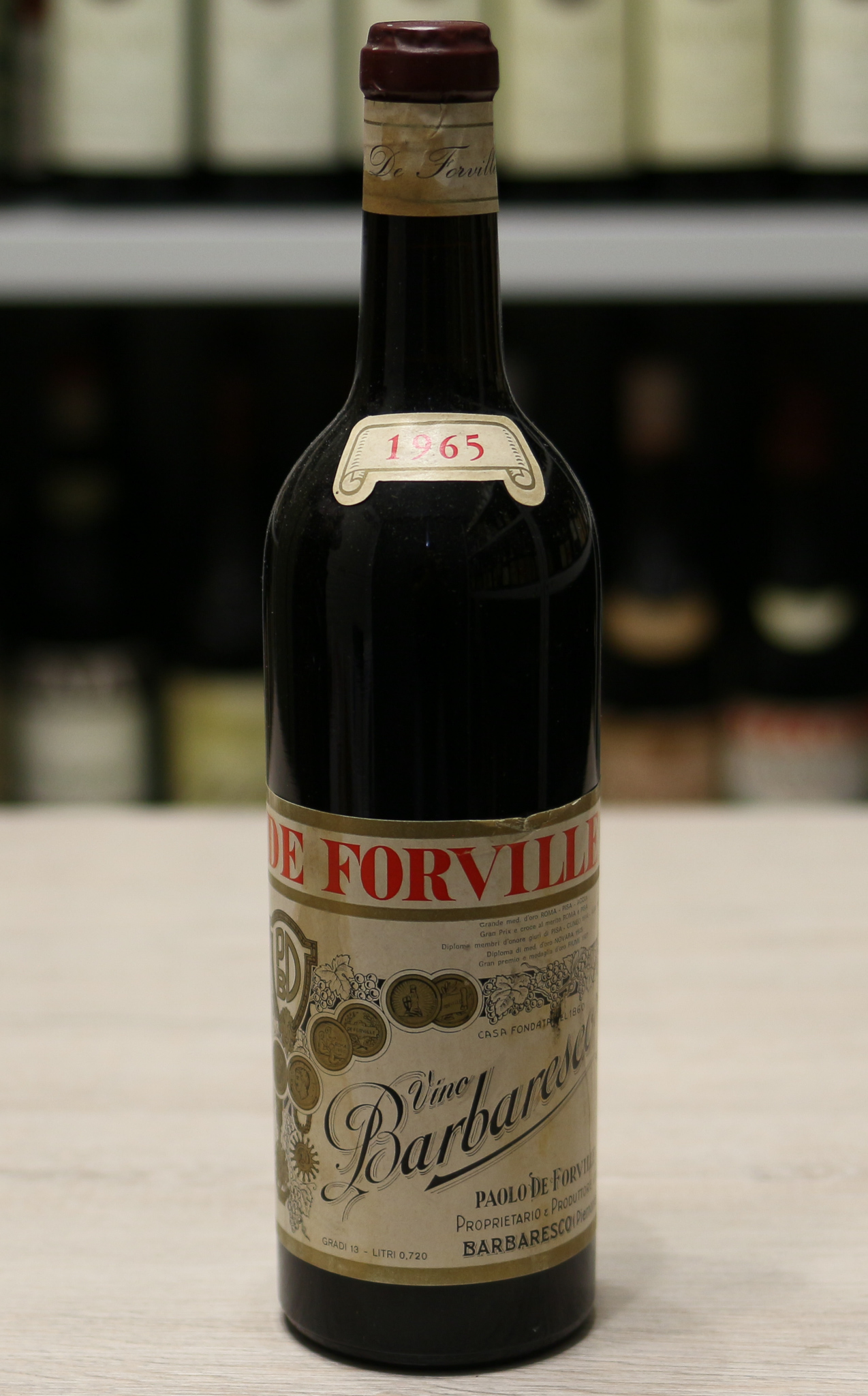 Вино Barbaresco De Forville 1955 года урожая