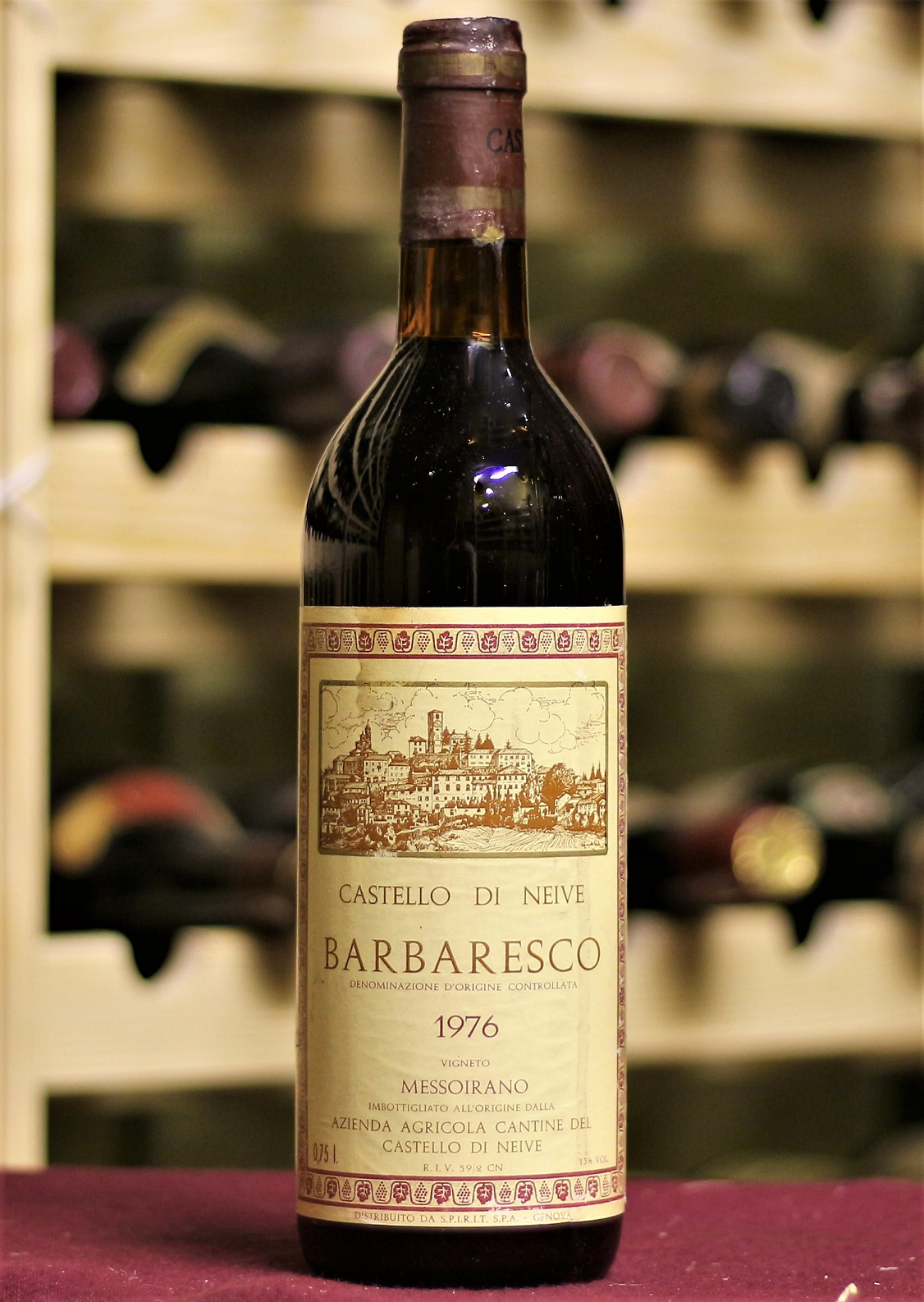 Купить вино Castello di Neive Barbaresco 1976 года урожая