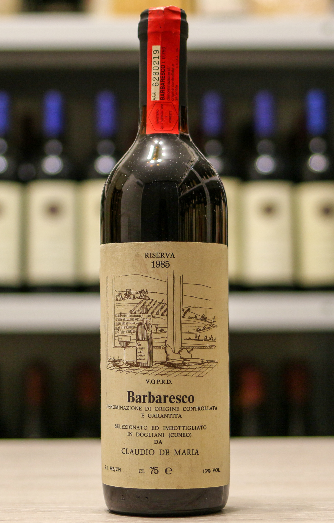 Вино Barbaresco Claudio de Maria 1985 года урожая