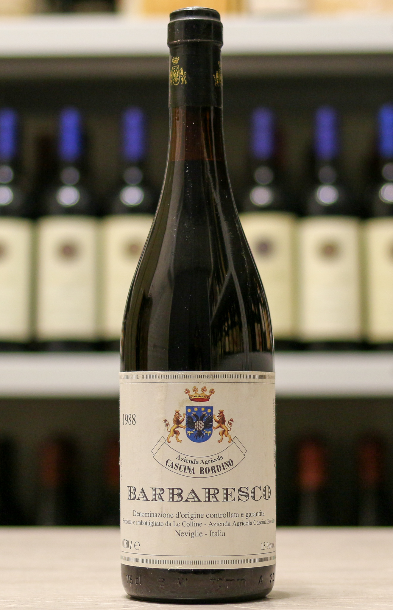 Красное вино Barbaresco Cascina Bordino 1988 года урожая