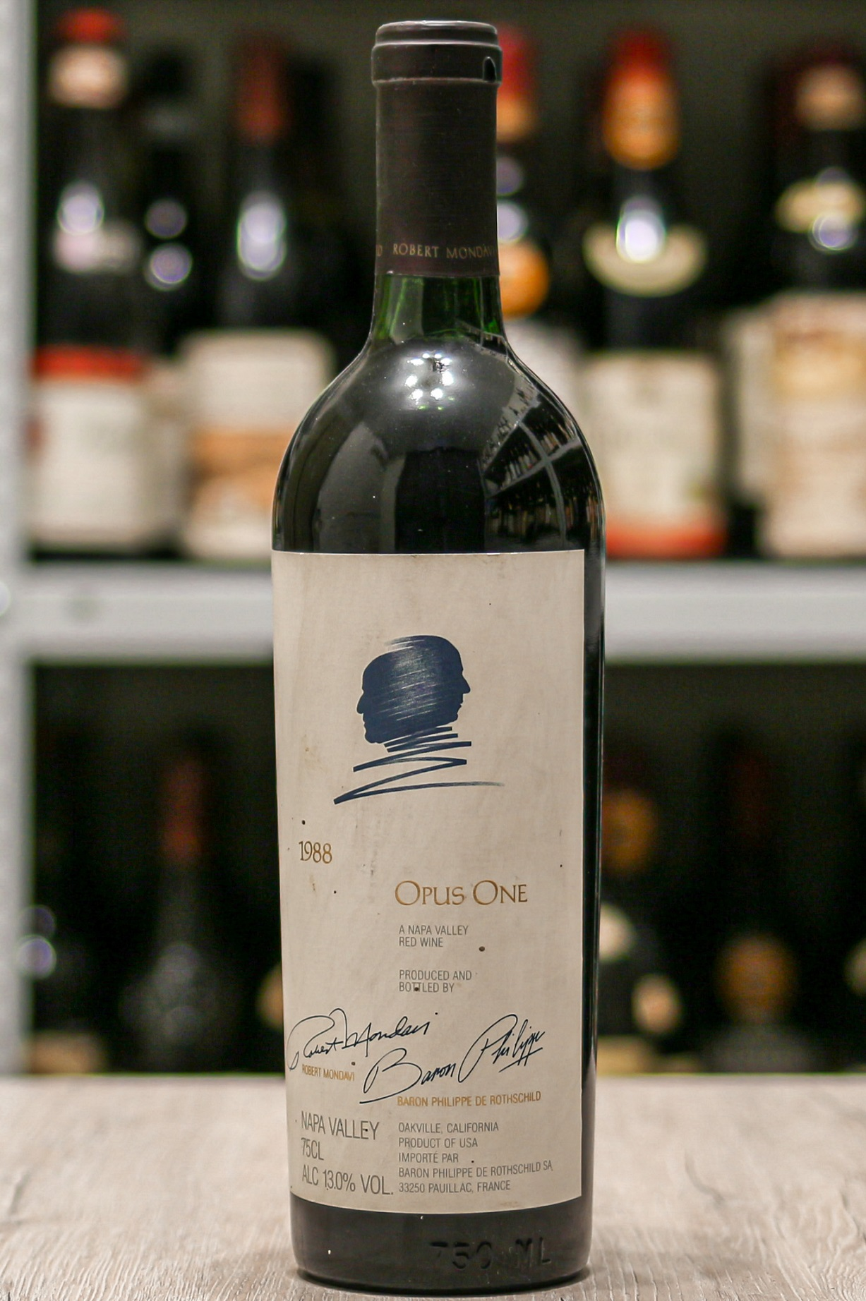 Купить вино Opus One a Nappa Valley 1988 года урожая