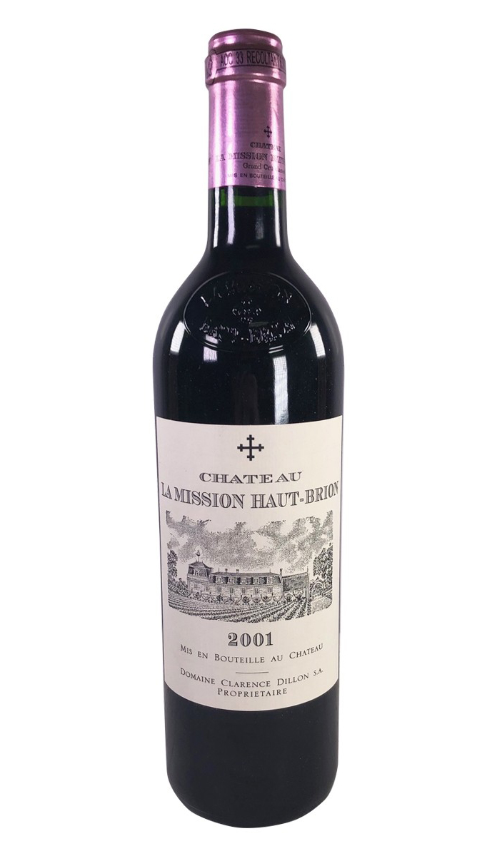 Вино Chateau La Mission Haut-Brion 2001 года купить